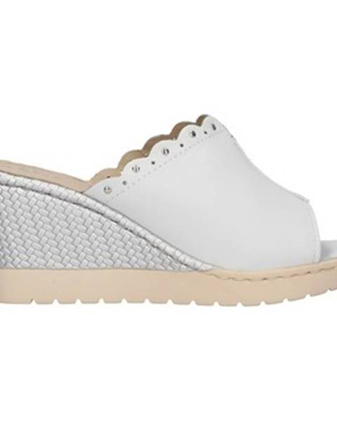 Bílé pantofle Melluso