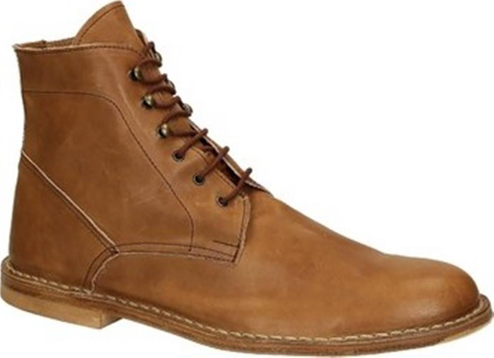 Leonardo Shoes Leonardo Shoes Kotníkové boty 29 CARMEN CUOIO Hnědá