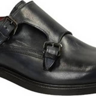 Leonardo Shoes Šněrovací polobotky 05507 62043 FORMA SCA Modrá