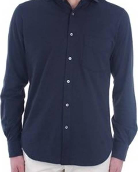 Modrá košile Aspesi