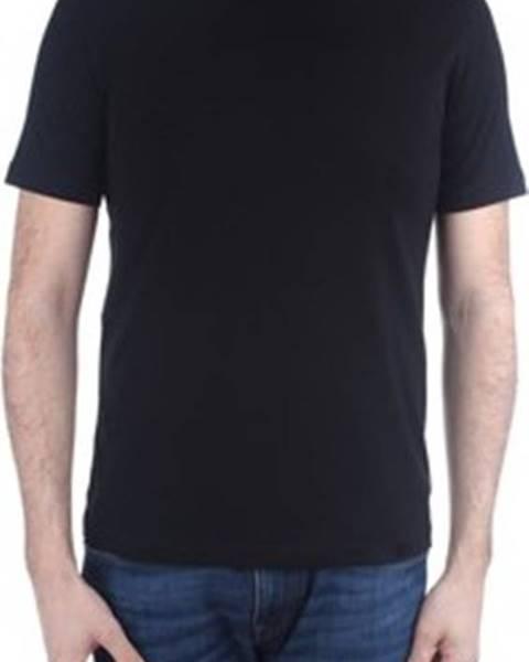 Černé tričko Cruciani