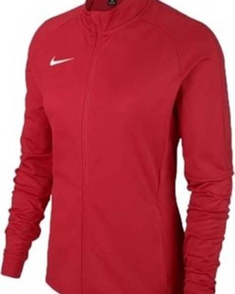 Červená bunda nike