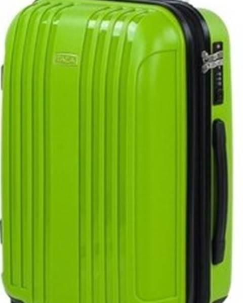 Zelený kufr Itaca