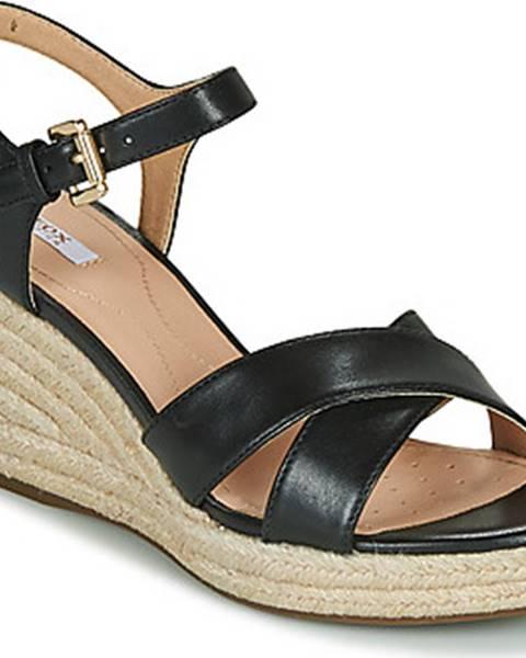 Černé sandály geox