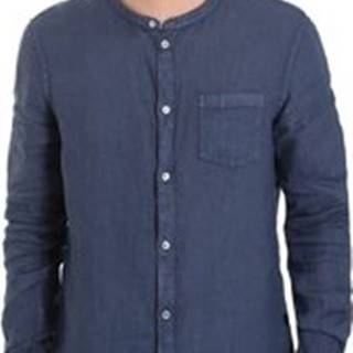 Gaudi Košile s dlouhymi rukáv 011BU45001 Modrá
