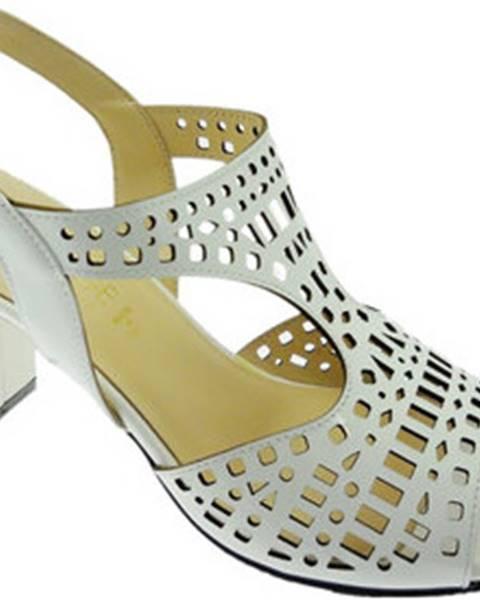 Bílé sandály Soffice Sogno