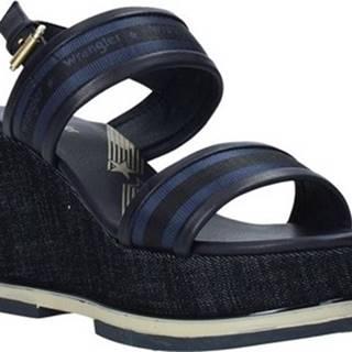 Wrangler Sandály WL01553A Modrá