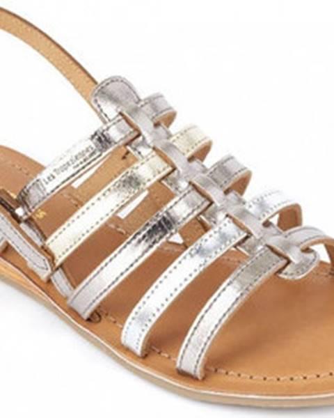 Stříbrné sandály Les Tropéziennes par M Belarbi