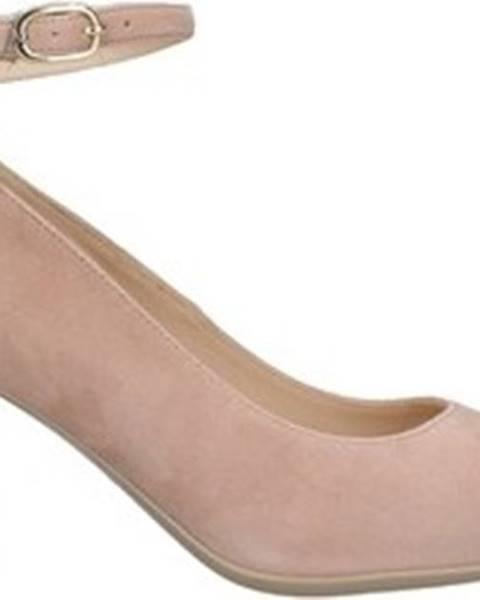 Růžové boty Nero Giardini