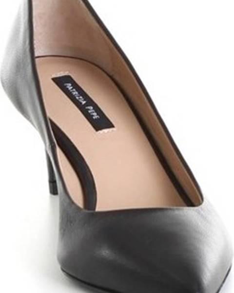 Černé boty Patrizia Pepe