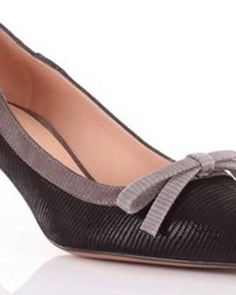 Černé boty Roberto Festa Milano