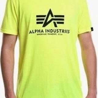Alpha Trička s krátkým rukávem Basic Zelená