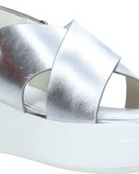Stříbrné sandály Impronte