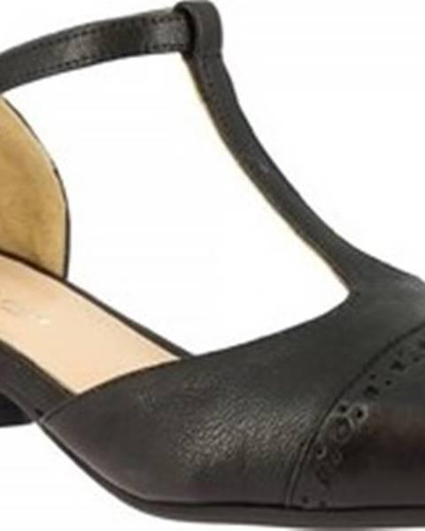 Černé boty Leonardo Shoes