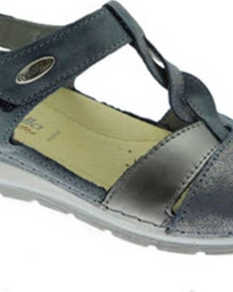 Modré sandály Riposella