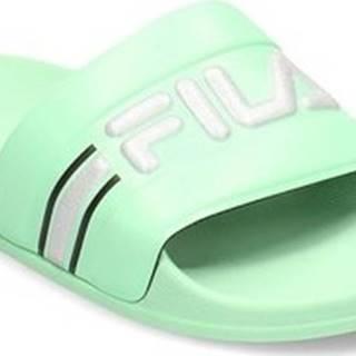 Fila pantofle Oceano Neon Slipper Zelená