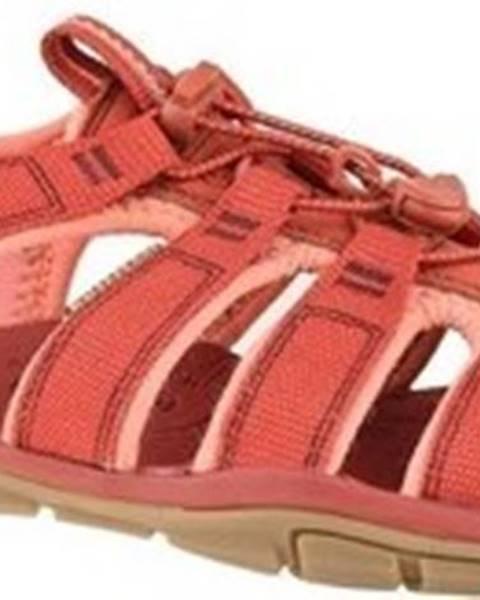 Oranžové sandály keen