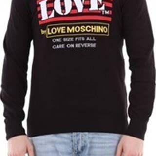 Love Moschino Trička s dlouhými rukávy MSG6210X1106 Černá