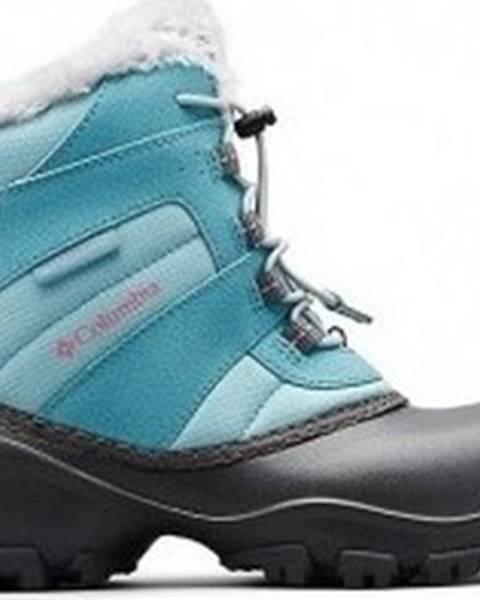 Modré boty columbia
