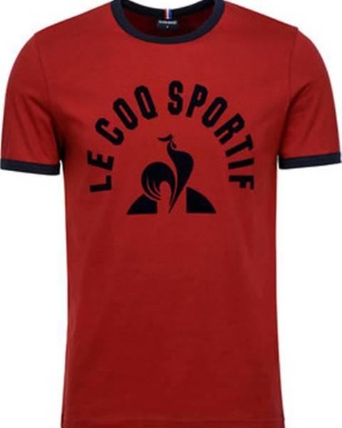 Červené tričko Le Coq Sportif