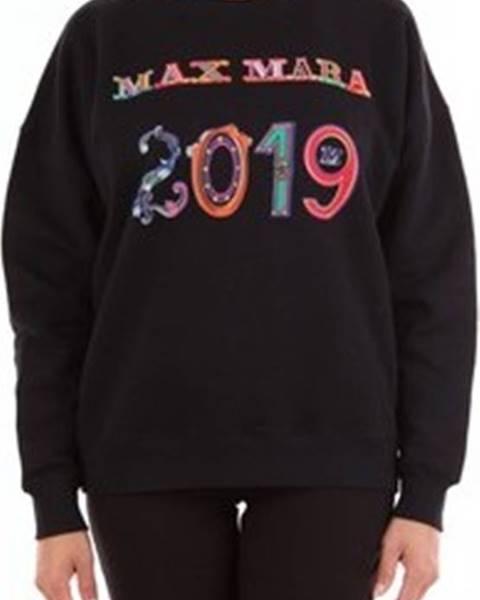 Černá mikina Max Mara