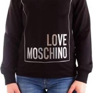 Love Moschino Svetry W6374 02 E2124 Černá