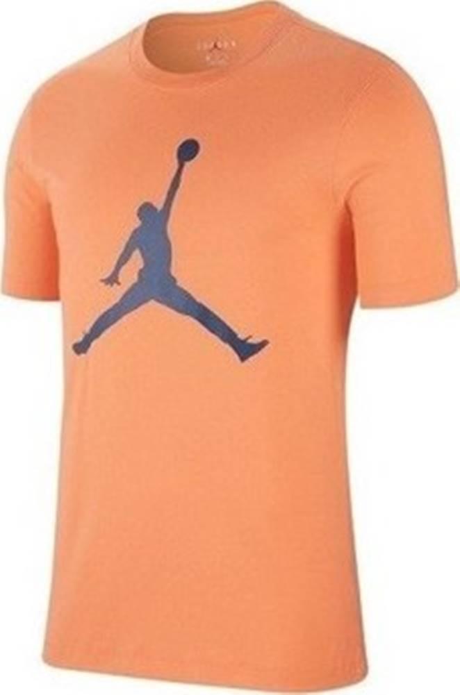nike Nike Trička s krátkým rukávem Jumpman Oranžová