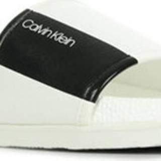 Calvin Klein Jeans pantofle Mackee Nappa Bílá
