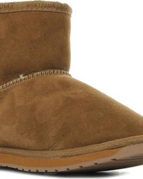 Hnědé boty Emu
