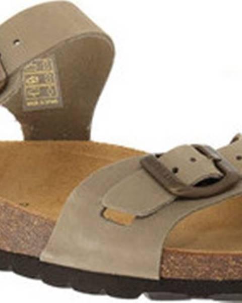 Zelené sandály Grunland