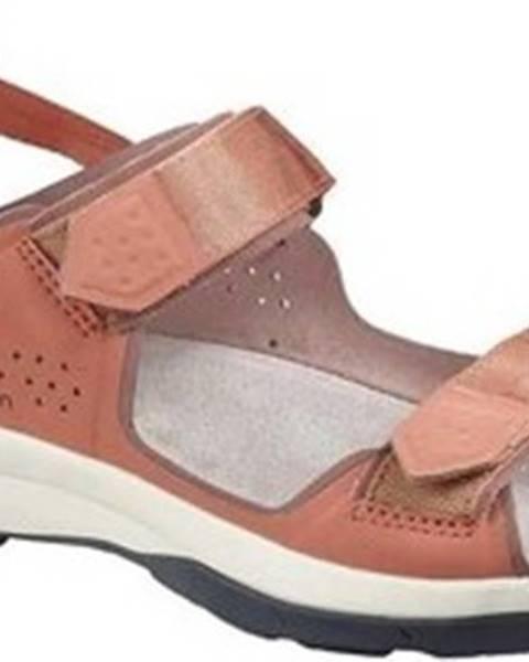 Hnědé sandály Salomon