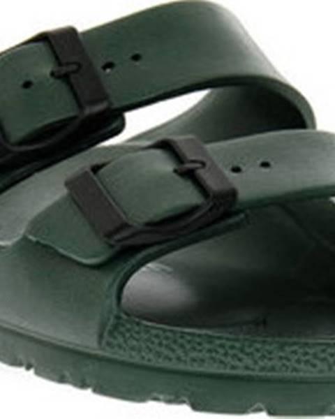 Zelené pantofle Bioline