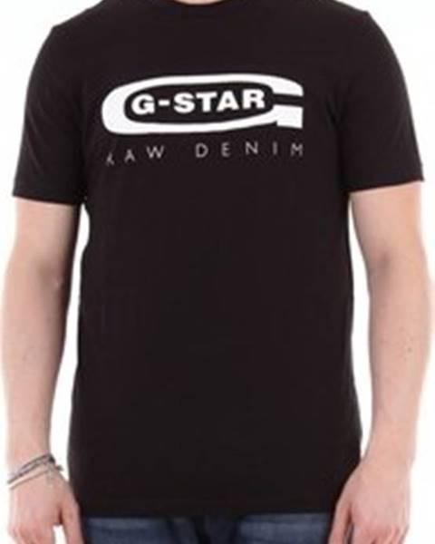 Černé tričko G-Star RAW