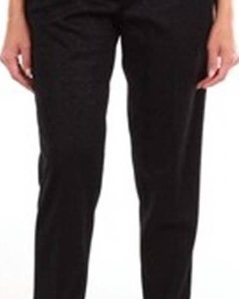 Černé kalhoty Marco De Vincenzo