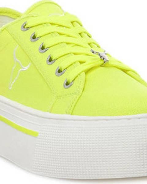 Žluté tenisky Windsor Smith