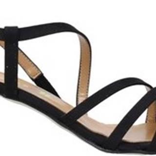 Grace Shoes Sandály 855K029 Černá