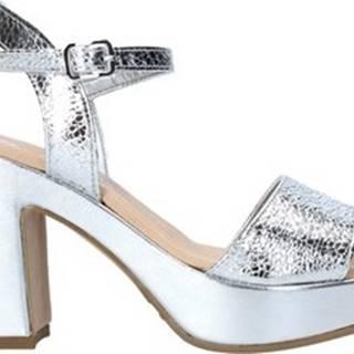 Grace Shoes Sandály L220 Stříbrná