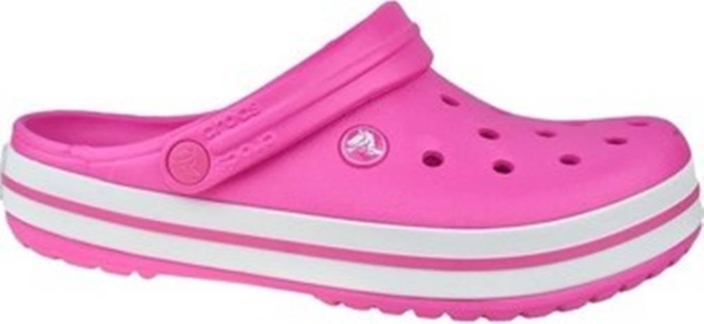crocs Crocs Pantofle Crocband Růžová