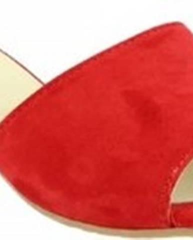 Pantofle, žabky Leonardo Shoes