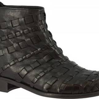 Kotníkové boty 2005ROBIN NERO Černá