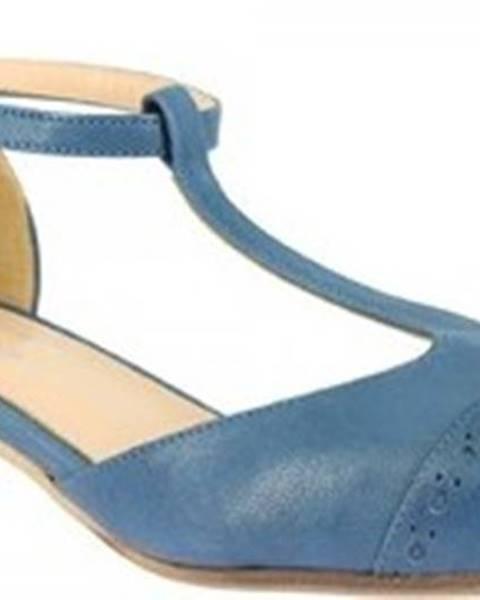 Leonardo Shoes Lodičky 2003LAVI BLUETTE Modrá