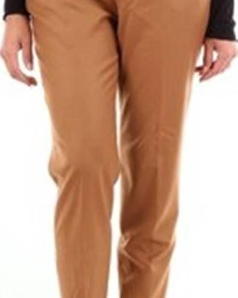 Béžové kalhoty Fabiana Filippi