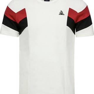 Le Coq Sportif Trička s krátkým rukávem Tri Pronto Tee SS N Bílá