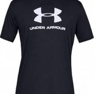 Under Armour Trička s krátkým rukávem Sportstyle Logo Ss Černá