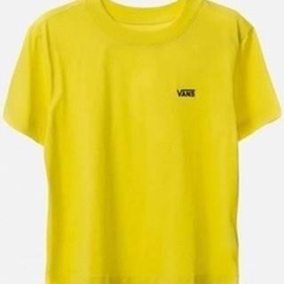 Vans Trička s krátkým rukávem V Boxy Žlutá