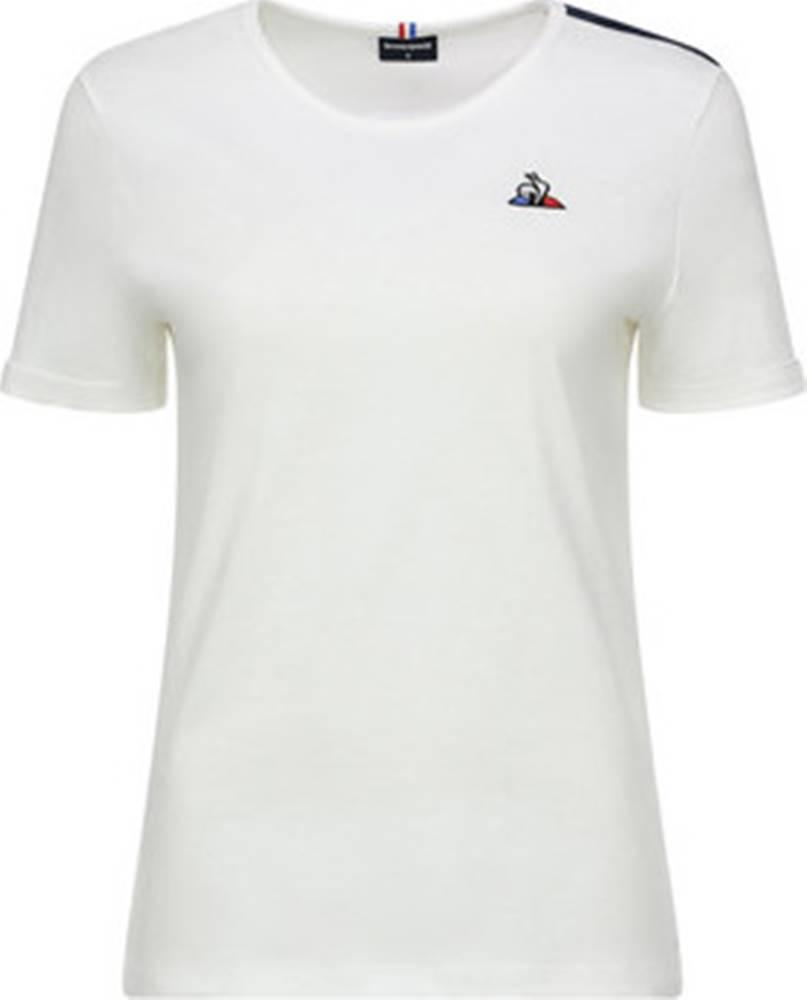 Le Coq Sportif Le Coq Sportif Trička s krátkým rukávem Tricolore Tee SS Bílá