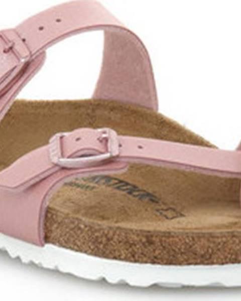 Růžové sandály Birkenstock