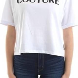 Versace Trička s krátkým rukávem B2 HUA7HT 36255 Bílá
