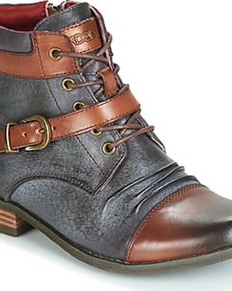 Hnědé boty Kdopa