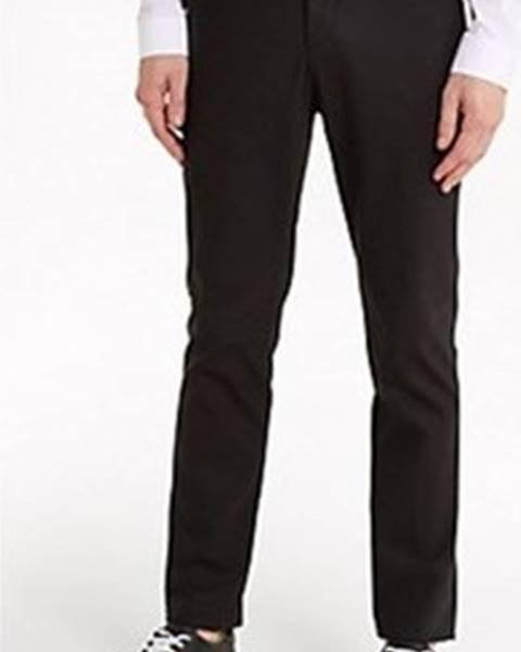 Černé kalhoty Patrizia Pepe